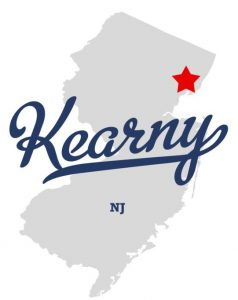 kearny-new-jersey-road-map
