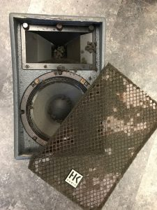 liquidated sound equipment