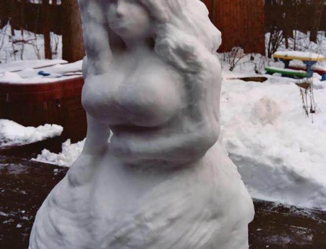 Snow Mermaid